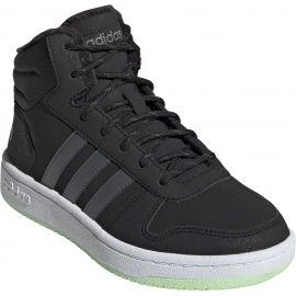adidas HOOPS MID 2.0 K - Dětská zimní obuv