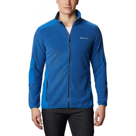 Columbia TOUGH HIKER FULL ZIP FLEECE - Pánská mikina