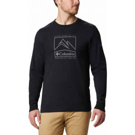 Columbia CADES COVE LS GRAPHIC TEE - Pánské triko