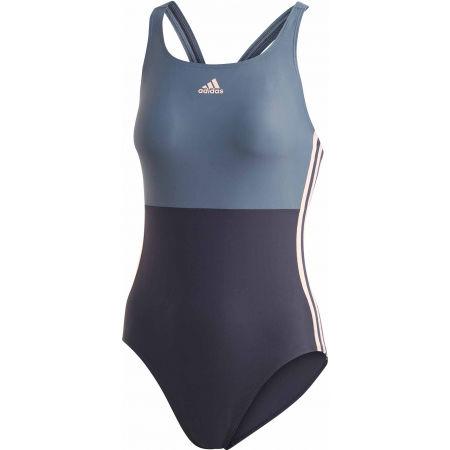 adidas SH3.RO COLORBLOCK 3S SWIMSUIT - Dámské jednodílné plavky