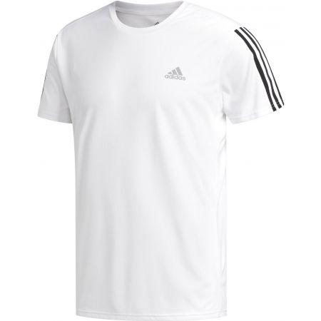 adidas RUN IT TEE 3S M - Pánské sportovní tričko