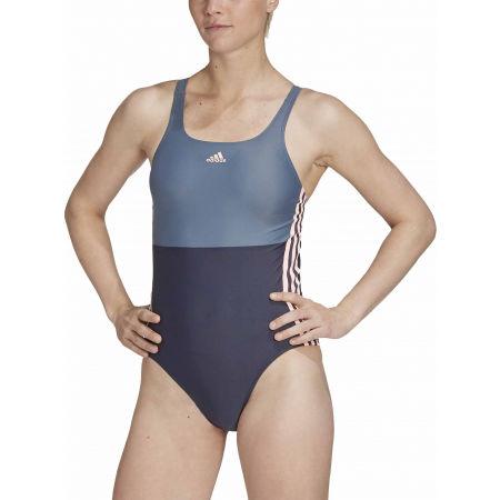 Dámské jednodílné plavky - adidas SH3.RO COLORBLOCK 3S SWIMSUIT - 3
