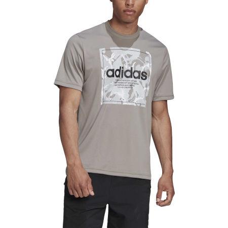 Pánské tričko - adidas CAMO BX T - 3