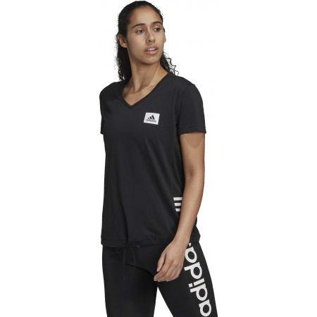 Dámské sportovní tričko - adidas D2M MO T - 4