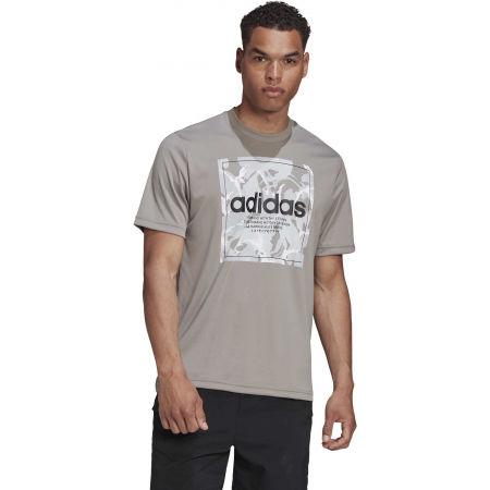 Pánské tričko - adidas CAMO BX T - 4