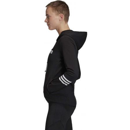 Dámská mikina - adidas DESIGNED TO MOVE MOTION FULLZIP HOODIE - 4