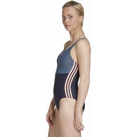 Dámské jednodílné plavky - adidas SH3.RO COLORBLOCK 3S SWIMSUIT - 5