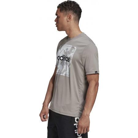 Pánské tričko - adidas CAMO BX T - 5