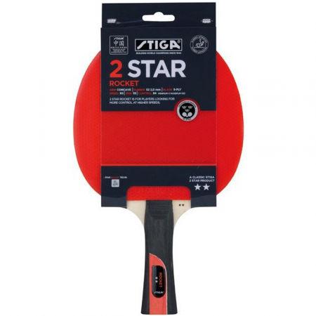 Pálka na stolní tenis - Stiga 2 STAR ROCKET