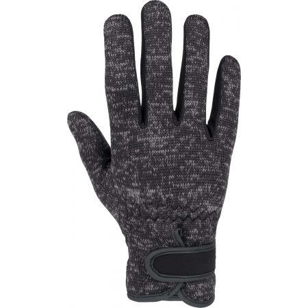 Dámské rukavice z pleteného fleecu - Willard KETS - 1