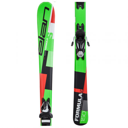 Dětské sjezdové lyže - Elan FORMULA S QS + EL 7.5 - 1