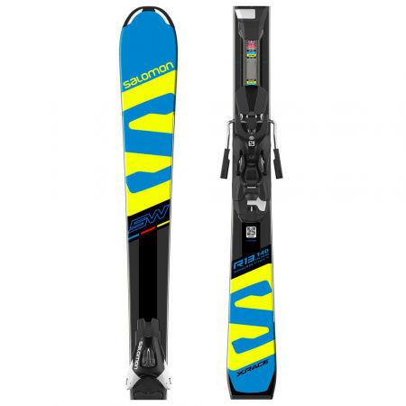 Salomon E X-RACE JR SW + E L7 - Juniorské sjezdové lyže