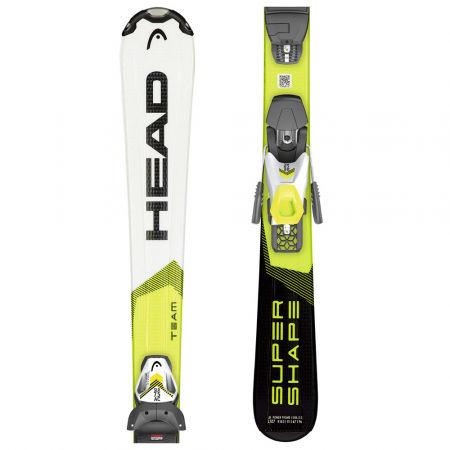 Head SUPERSHAPE TEAM SLR PRO + SLR 7.5 - Dětské sjezdové lyže
