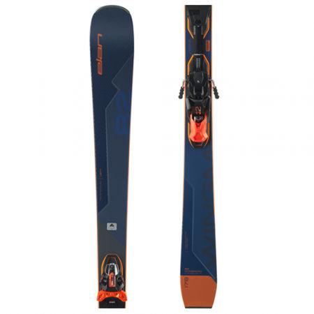 Elan WINGMAN 82 CTI FUSION + EMX 12 - Sportovní sjezdové lyže