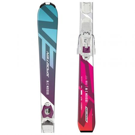 Sporten IRIDIUM 3 W + VSS 310 - Dámské sjezdové lyže