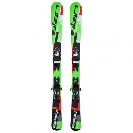 Dětské sjezdové lyže - Elan FORMULA S QS + EL 4.5 - 2