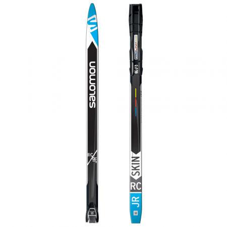 Salomon RC JUNIOR SKIN + PLK ACCESS - Klasické bežecké lyže s podporou stoupání