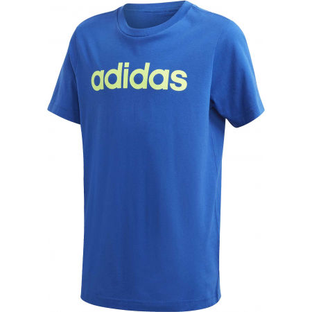 adidas YB E LIN TEE - Chlapecké triko
