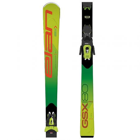 Unisexové sjezdové lyže - Elan GSX PRO PS + ELS 11 GRN - 1