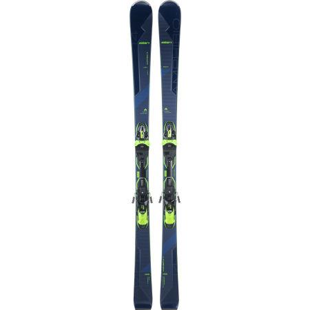 Unisexové sjezdové lyže - Elan AMPHIBIO 14 TI FUSION + EMX 11 BLU - 2
