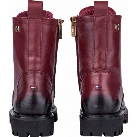 Dámská kožená obuv - Tommy Hilfiger SHADED LEATHER TH BOOTIE - 7