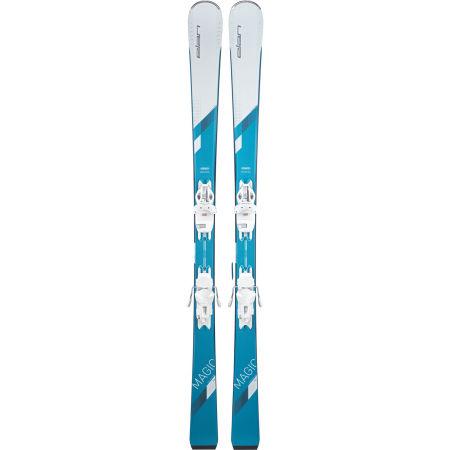 Dámské sjezdové lyže - Elan WHITE MAGIC LS + ELW 9 - 2
