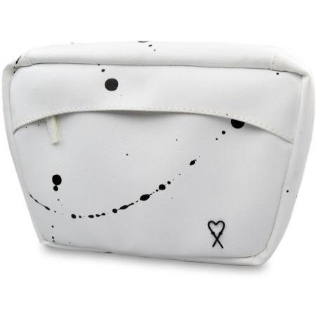 Dámská ledvinka - XISS SPLASHED WHITE - 2