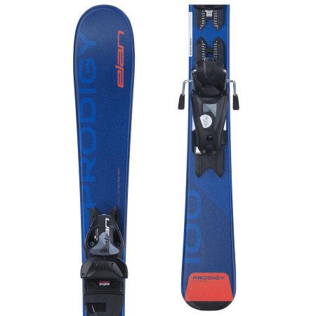 Elan PRODIGY QS + 7.5 BLU - Dětské sjezdové lyže