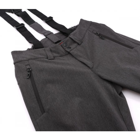 Pánské lyžařské softshellové kalhoty - Hannah DORFIN - 3
