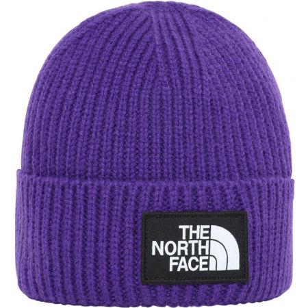 Čepice - The North Face TNF LOGO BOX CUFFED BEANIE - 1