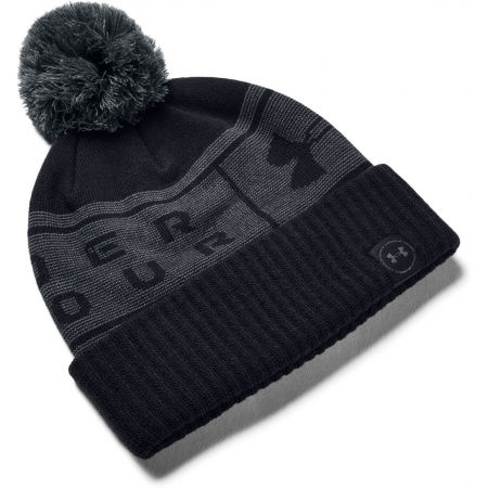 Under Armour BIG LOGO POM BEANIE - Unisex čepice