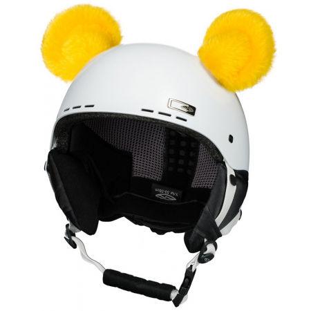 Crazy Ears CRAZY UŠI - MEDVÍDEK - Uši na helmu