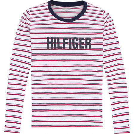 Tommy Hilfiger LS TEE STRIPE - Dámské triko s dlouhým rukávem