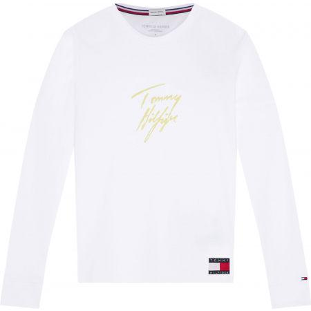 Tommy Hilfiger LS TEE GOLD - Dámské triko s dlouhým rukávem