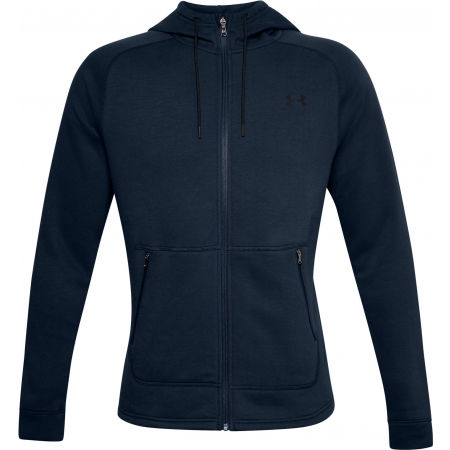 Under Armour CHARGED COTTON FLC FZ HD - Pánská mikina