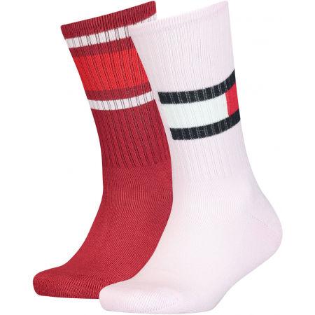 Tommy Hilfiger KIDS FLAG 2P - Dětské ponožky