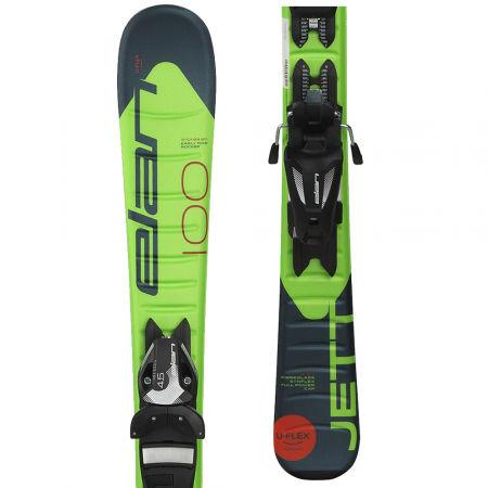 Elan JETT QS + EL 7.5 - Chlapecké sjezdové lyže