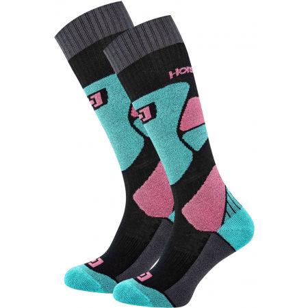 Horsefeathers MAURA THERMOLITE SOCKS - Dámské snowboardové ponožky