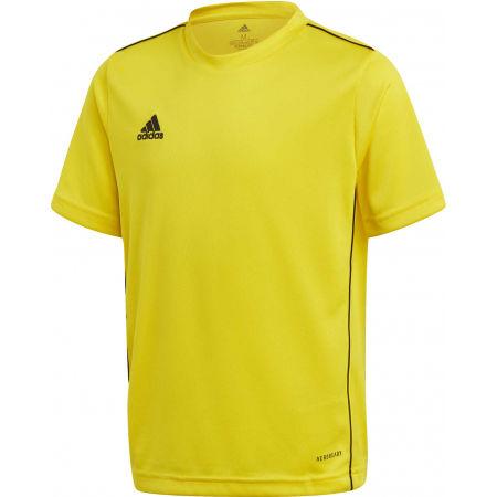 adidas CORE18 JSY Y - Juniorský fotbalový dres