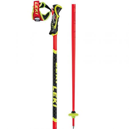 Závodní slalomové hole - Leki WCR SL 3D