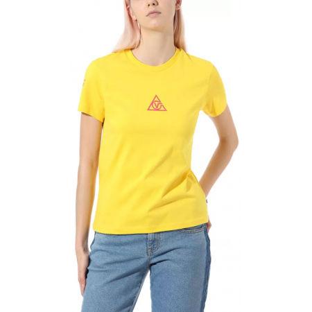 Dámské tričko - Vans WM 66 SUPPLY TRI BF CREW - 2