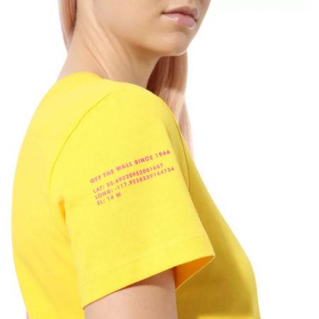 Dámské tričko - Vans WM 66 SUPPLY TRI BF CREW - 4