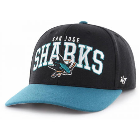 47 NHL SAN JOSE SHARKS MCCAW '47 MVP DP BLK - Kšiltovka