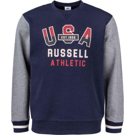 Russell Athletic PRINTED CREWNECK SWEATSHIRT - Pánská mikina