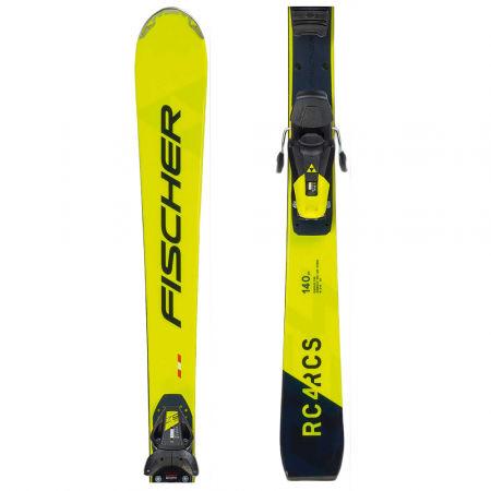 Juniorské sjezdové lyže - Fischer RCS JR+RC4 Z9 - 1