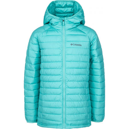 Columbia POWDER LITE GIRLS HOODED JACKET - Dětská bunda