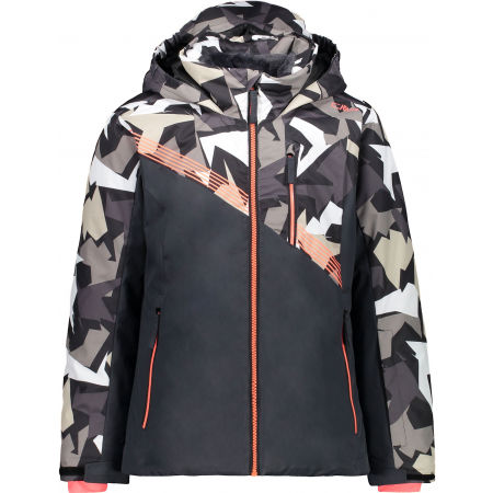 Dívčí lyžařská bunda - CMP KID GIRL JACKET - 1