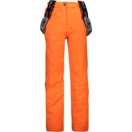 Dívčí lyžařské kalhoty - CMP KID GIRL SALOPETTE - 1