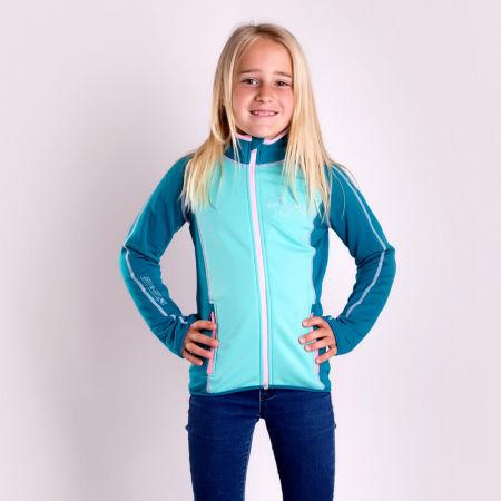 Dívčí funkční sportovní mikina - Progress TISPA JUNIOR - 4