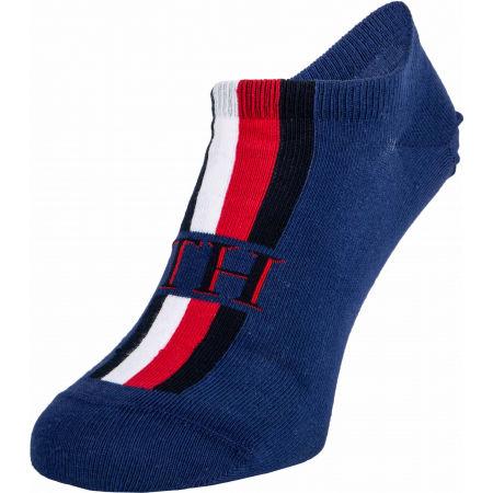Pánské ponožky - Tommy Hilfiger MEN SNEAKER 2P ICONIC STRIPE - 4